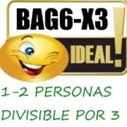 BAG6-X3 MALLAS NARANJAS