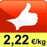 PRECIO OFERTA ► 2,22 €/kg