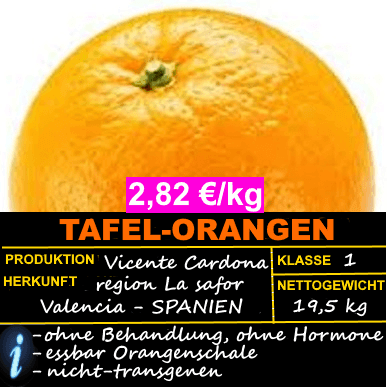 TAFEL-ORANGEN ► OFFERTE 2,82 KG